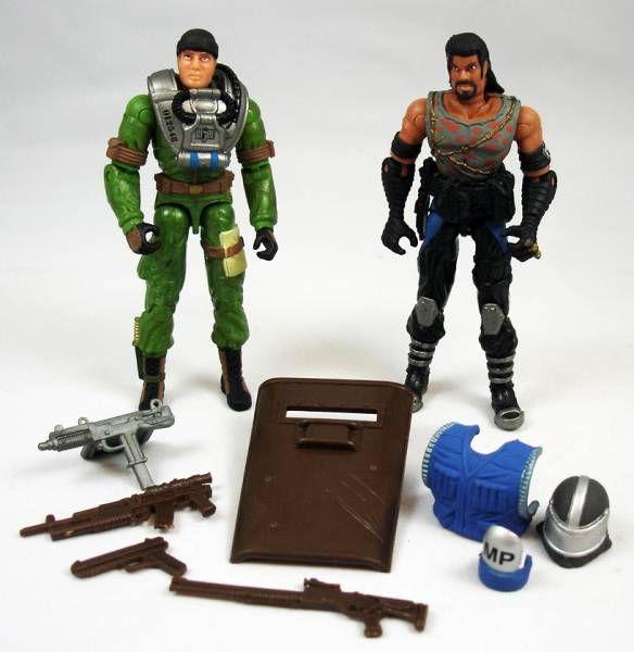 G.I.Joe vs. Cobra - 2003 - Chief Torpedo & Burn Out (loose)