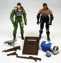 G.I.Joe vs. Cobra - 2003 - Chief Torpedo & Burn Out (loose)