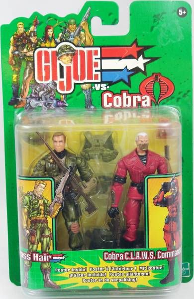 G.I.Joe vs. Cobra - 2003 - Cross Hair & Cobra C.L.A.W.S. Commander