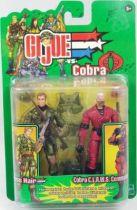 G.I.Joe vs. Cobra - 2003 - Cross Hair & Cobra C.L.A.W.S. Commander