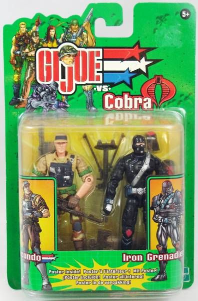 G.I.Joe vs. Cobra - 2003 - Recondo & Iron Grenadier