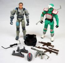 G.I.Joe vs. Cobra - 2003 - Sgt. Hacker & Scalpel (loose)