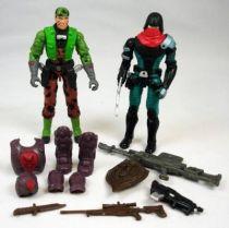 G.I.Joe vs. Cobra - 2003 - Tunnel Rat & Over Kill (loose)