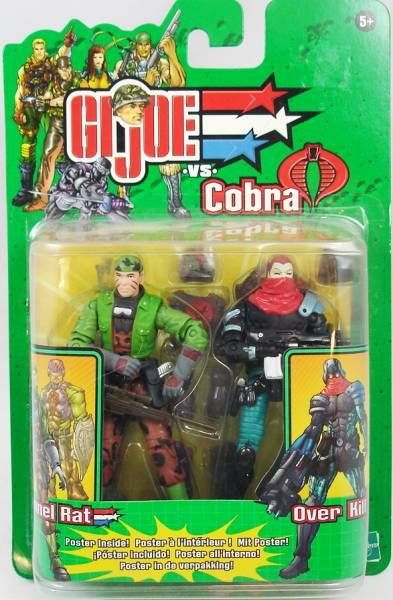 G.I.Joe vs. Cobra - 2003 - Tunnel Rat & Overkill