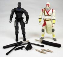 G.I.Joe vs. Cobra - 2004 - Snake Eyes & Storm Shadow (loose)