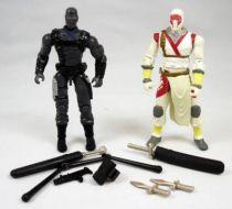 G.I.Joe vs. Cobra - 2004 - Snake Eyes & Storm Shadow (loose)