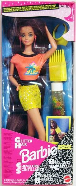 Glitter Hair Barbie - Mattel 1993 (ref. 10966)