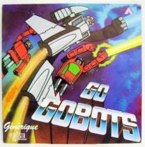 Go-Gobots Original French TV series Soundtrack - Mini-LP Record - AB Prod. 1985