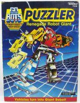 GoBots - Tonka - Puzzler Renegade Robot Giant set