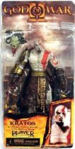 God of War - Kratos (with Golden Fleece Armor with Medusa Head) - NECA Player Select figure