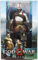 "God of War (2018) - Kratos - NECA 6\"" action-figure"
