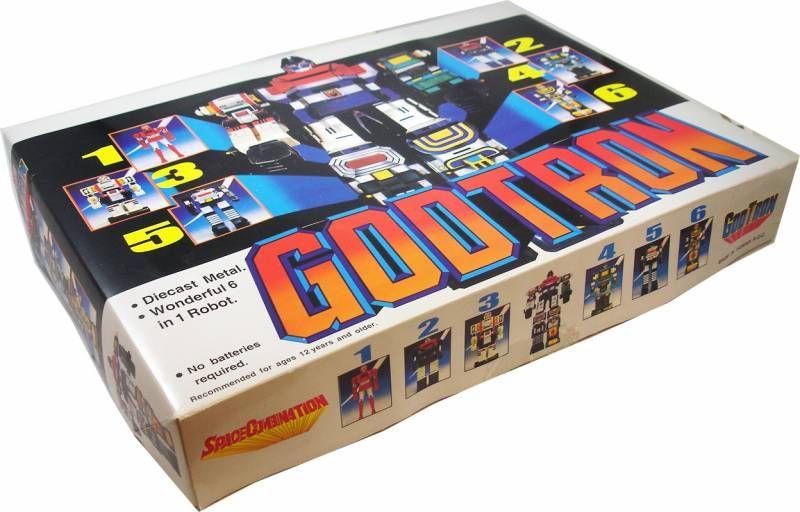 Godmars - GodTron Space Combination Deluxe set