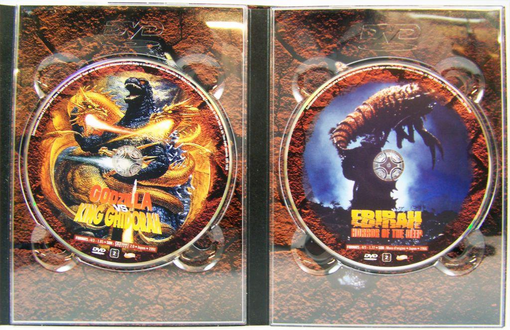 Godzilla - Coffret 2 DVD - Godzilla vs. King Ghidorah / Ebirah, Horror of the Deep