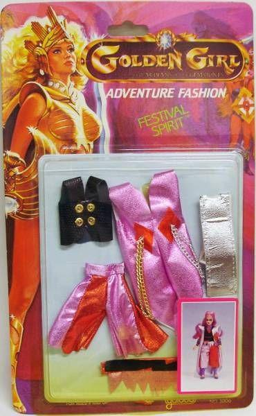 Golden Girl - Moth Lady - Festival Spirit Fashion (Galoob USA)