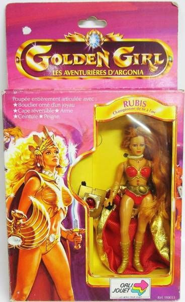 Golden Girl - Rubee (Orli-Jouet France box)