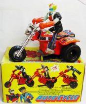 Goldorak - Auto-cycle - Jouet motorisé avec figurine