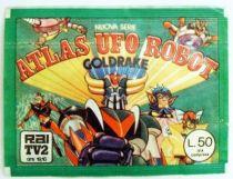 Goldorak - Pochette Vignettes Edierre 1978 - Atlas UFO Robot Goldrake
