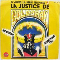 Goldorak 5 La Justice de Goldorak par Lionel Leroy - Disque 45Tours Saban 1982