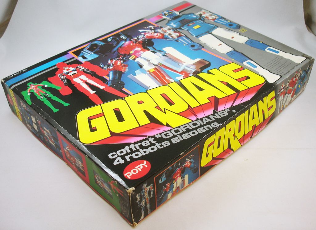 Gordian - Bandai Godaikin Popy France - Gordian DX set