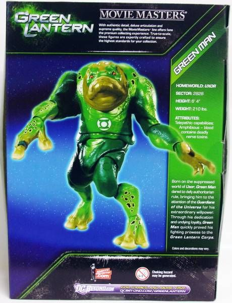 Green Lantern - Movie Masters - Green Man