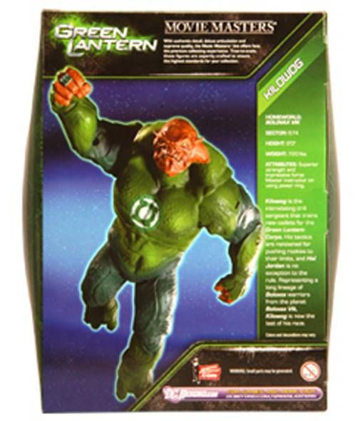 Green Lantern - Movie Masters - Kilowog