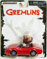 Gremlins - Neca \'\'Go Gizmo Go\'\' Motorized Pull Back & Go Action - Gizmo in Corvette
