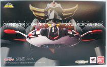 Grendizer - Bandai Super Robot Chogokin - Goldrake & Spazer set Kurogane Finish