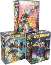Grendizer - Declic Images - Original TV series on 3 DVD boxed sets.