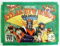 Grendizer - Edierre 1978 Sticker set - Atlas UFO Robot Goldrake