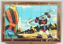 Grendizer - Garnier - 24 Cubes Puzzle game
