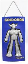 "Grendizer - Goldrake Air Freshener - Blue ""Fern\"" - Toei Dynamic Pictural Antenne 2 1978"