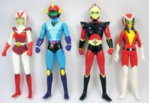 "Grendizer - High Dream - Grendizer Pilots Team 6"" vinyl figures (loose)"