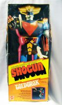"Grendizer - Mattel Shogun Warriors - Grendizer Goldrake Jumbo Machinder ""La Vache qui Rit\"" (loose with box)"