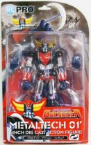 Grendizer - Metaltech 01\' - Diecast figure (chrome) - High Dream