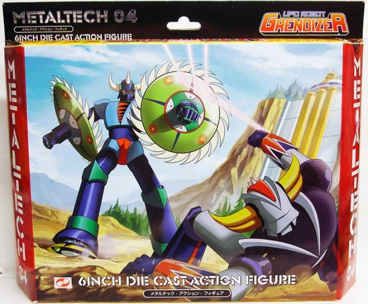 Grendizer - Metaltech 04 - Gin Gin Diecast figure - High Dream