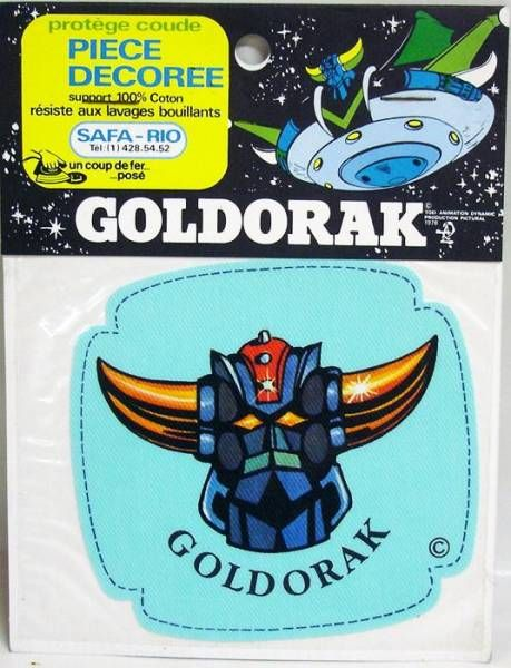 Grendizer - Safa Rio - Elbow Iron-on cloth patch