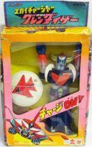 Grendizer \'\'Sky Charger\'\' robot - Bandai