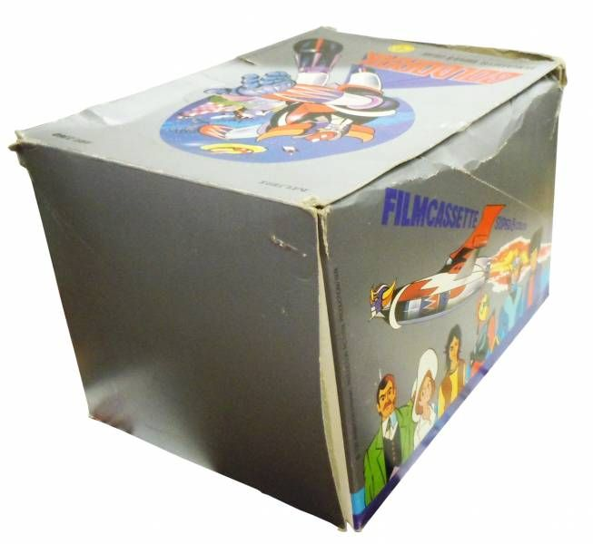 Grendizer - Store Display with 12 Mupi Super 8 Projector Cartbridge
