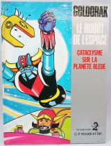 Grendizer - Story book G. P. Rouge et Or A2 edition - Grendizer : Cataclysm on the blue planet