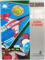 Goldorak - Edition G. P. Rouge et Or A2 - Goldorak le Robot de l\'Espace  Alcorak se déchaine