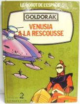 Grendizer - Story book G. P. Rouge et Or A2 edition - Grendizer : Venusia in the rescue.