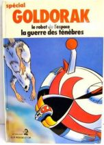 Grendizer - Story book G. P. Rouge et Or A2 edition - Special Grendizer : war of the darkness
