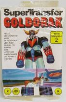 Grendizer - SuperTransfer sheet - Edierre-Rome