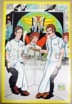 Grendizer - Tele-Guide Editions - Poster Doctor Umon\'s team