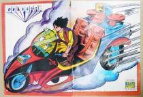 Grendizer - Tele-Guide Editions - Poster Duke Fleed rides his Motorbike