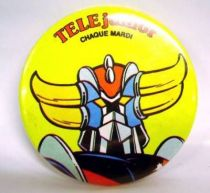 Grendizer - vintage \'\'Télé-Junior\'\' Button