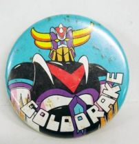 Grendizer - Vintage Button - Goldorake portrait