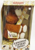 Groupi - Ajena - 12\'\' Brown Groupi Bear plush doll (mint in box)