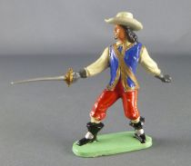 Guilbert - 60mm - Musketeer pointing sword with hat