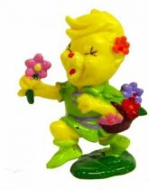 Gummi Bears - PVC figure Schleich - Summi with Flowers